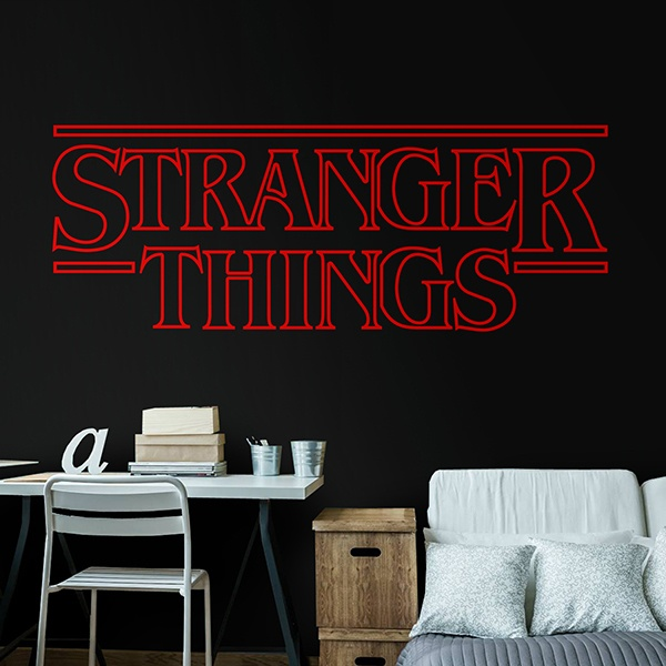 Stickers muraux: Stranger Things 0