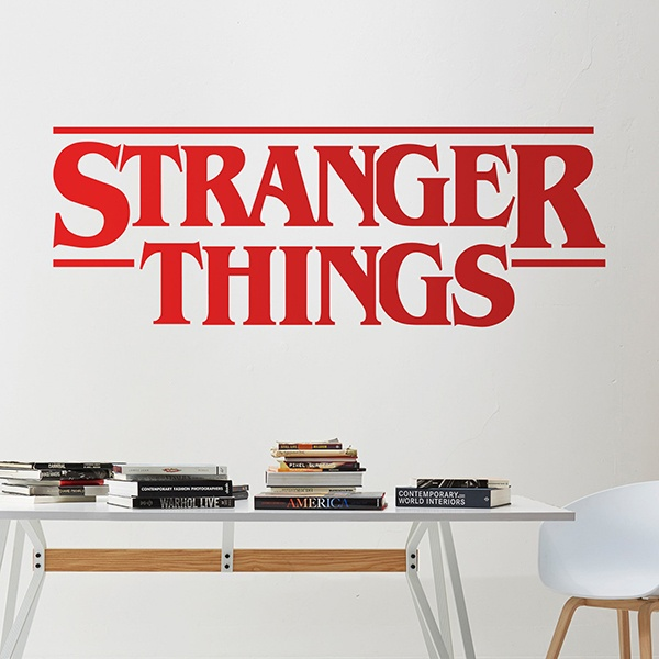 Stickers muraux: Stranger Things 2