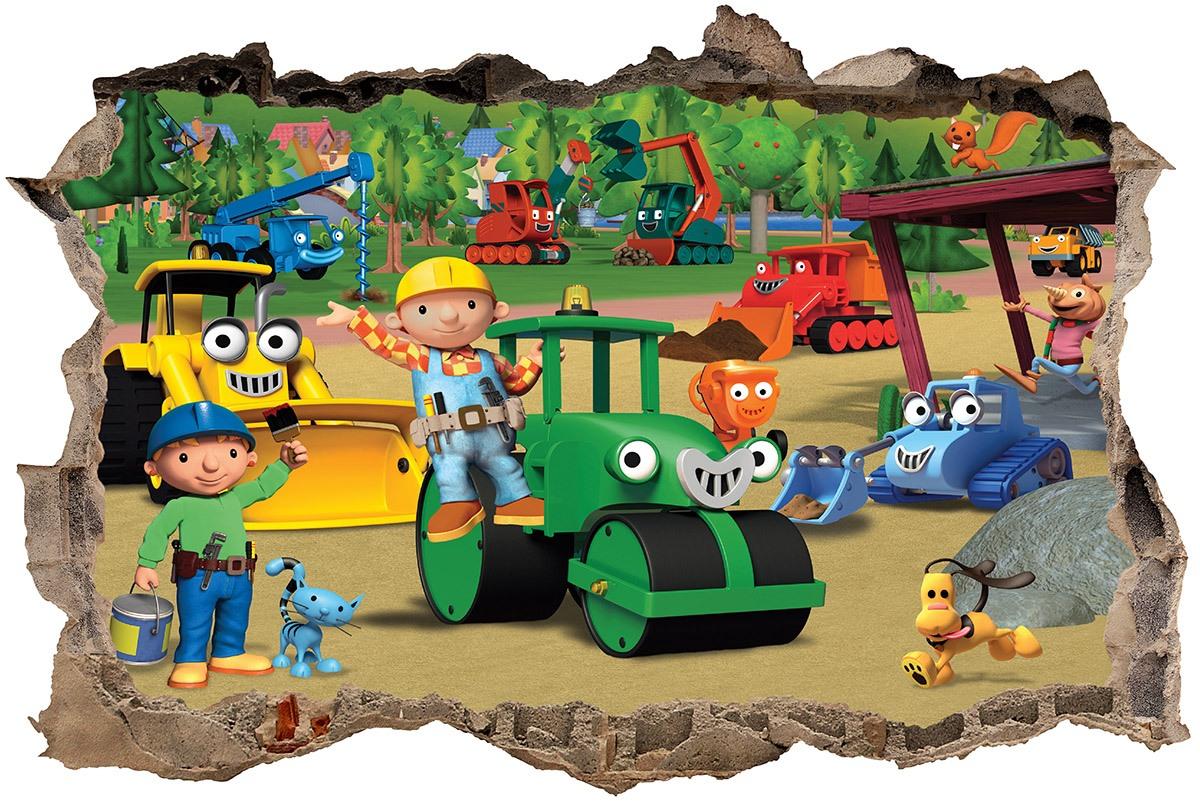 Stickers muraux: Trou Bob the builder