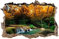 Stickers muraux: Trou Printemps dans la forêt 3