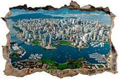 Stickers muraux: Ville de Vancouver 3