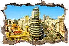 Stickers muraux: Trou Capitole de Madrid 3