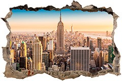 Stickers muraux: Trou New York 3