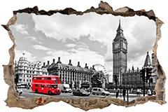 Stickers muraux: Trou Big Ben à Londres 3