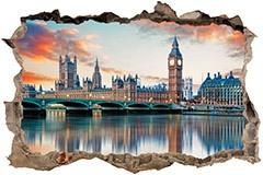 Stickers muraux: Trou Londres de la Tamise 3