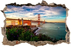 Stickers muraux: Loch Golden Gate San Francisco 3