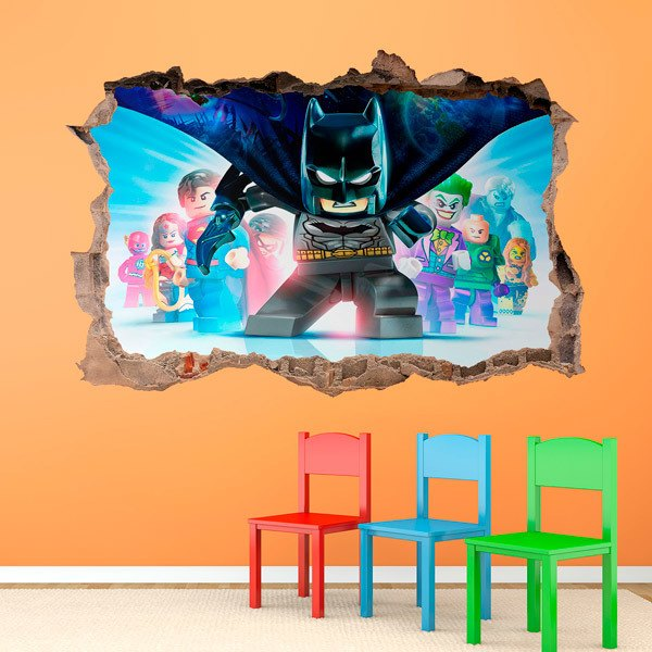 Stickers pour enfants: Lego, cape de Batman