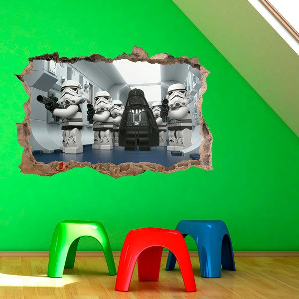 Stickers pour enfants: Lego, Dark Vador de Star Wars