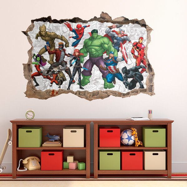 Stickers muraux: Avengers Comic