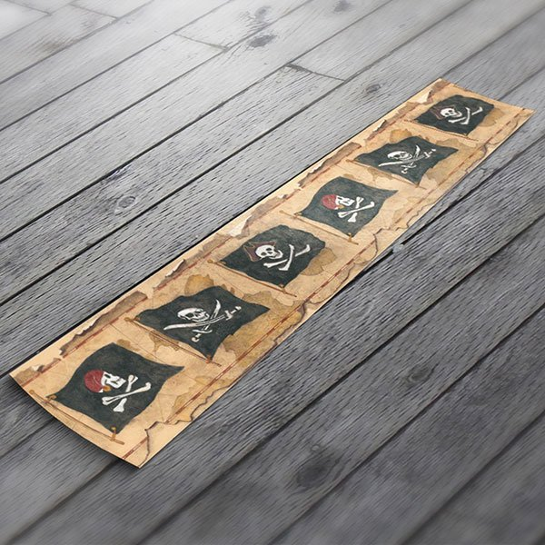 Stickers muraux Frise murale pirates