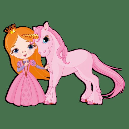 Stickers pour enfants: Fée et Licorne