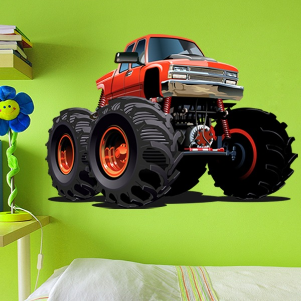 Stickers pour enfants: Monster Truck 15