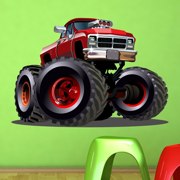 Stickers pour enfants: Monster Truck 16