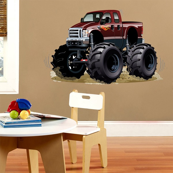 Stickers pour enfants: Monster Truck 1