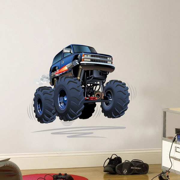 Stickers pour enfants: Monster Truck 4