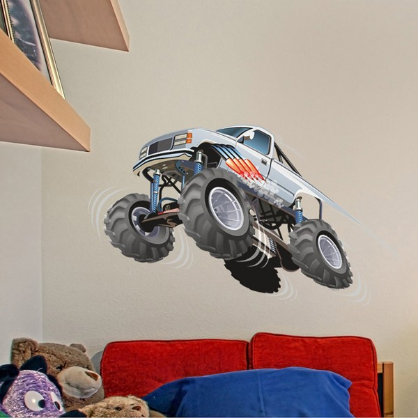 Stickers pour enfants: Monster Truck 7