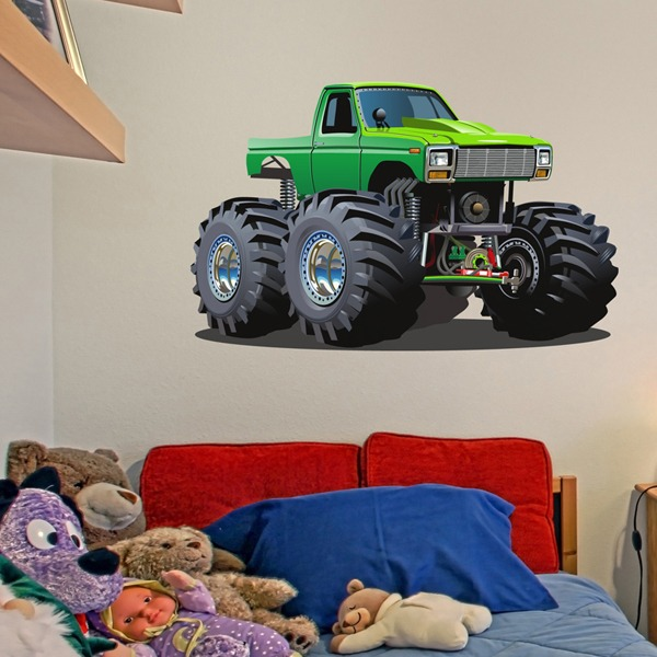 Stickers pour enfants: Monster Truck 12