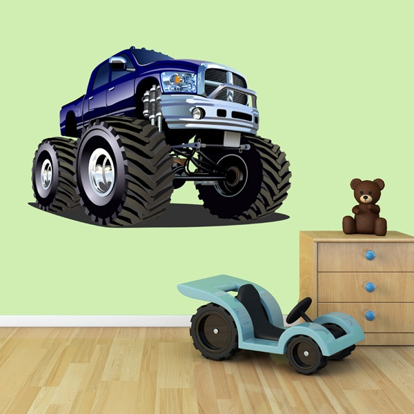 Stickers pour enfants: Monster Truck 13