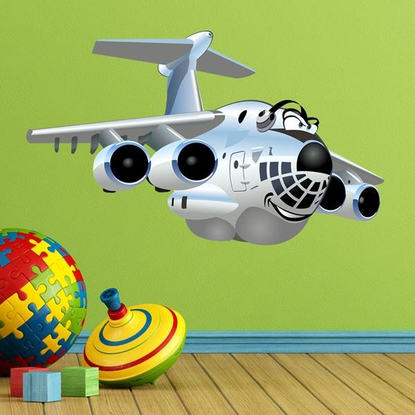 Stickers Muraux pour Enfants de Avions | WebStickersMuraux.com