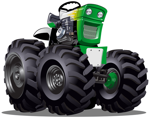 Stickers pour enfants: Monster Truck 25 0