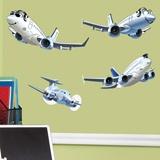 Stickers pour enfants: Avions Kit 3