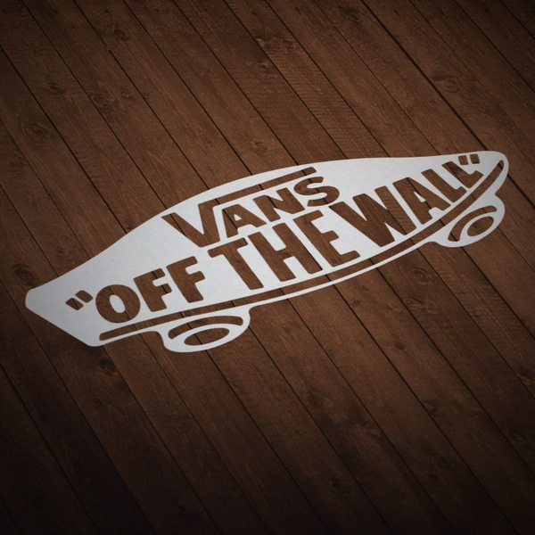 Autocollants: Vans off the wall skate