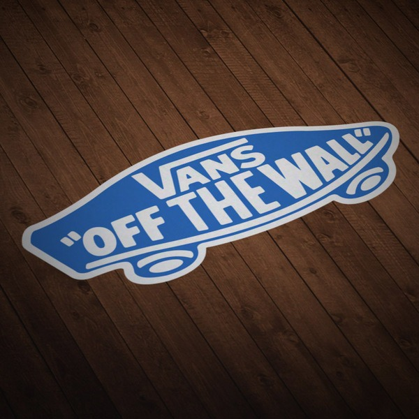 Autocollants: Vans off the wall 6