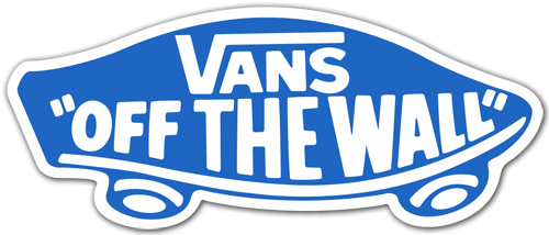 autocollant vans off the wall