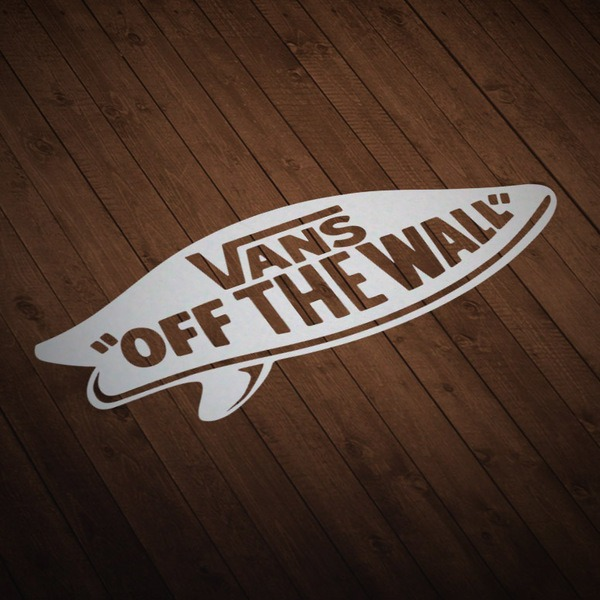 Autocollants: Vans off the wall surf