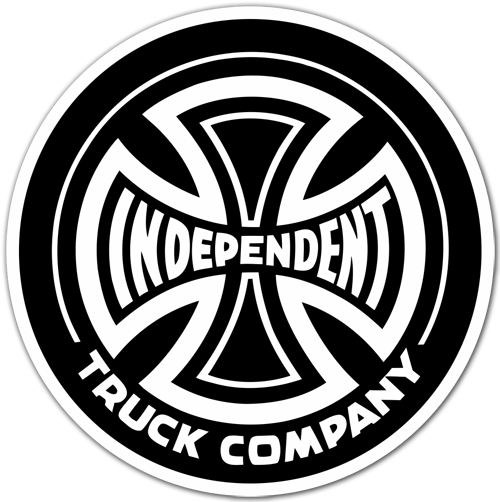 Autocollants: Independent Truck Company noir