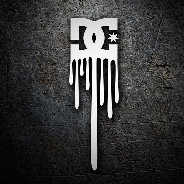 Autocollants: Dc Shoes Logo Vertical