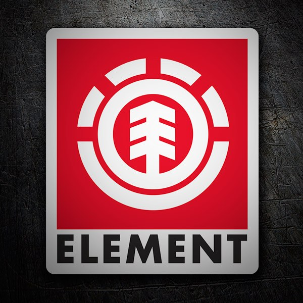 Autocollants: Element rouge