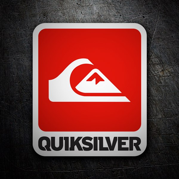 Autocollants: Quiksilver Wave and Mountain