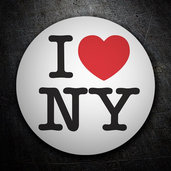 Autocollants: I love NY (New York)