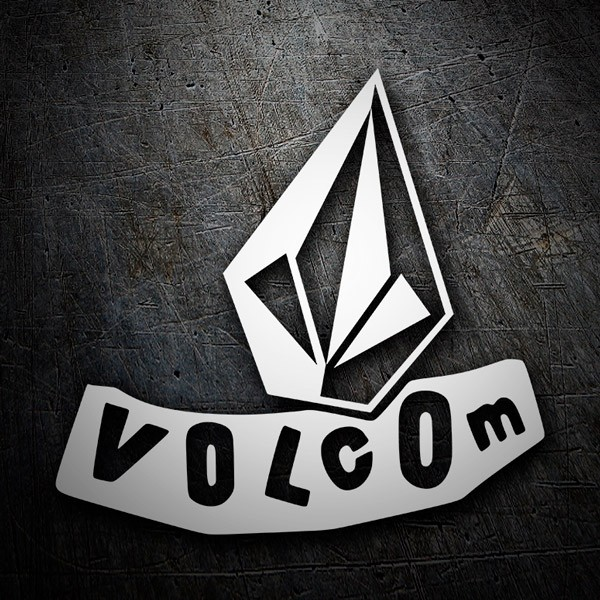 Autocollants: Volcom abstract