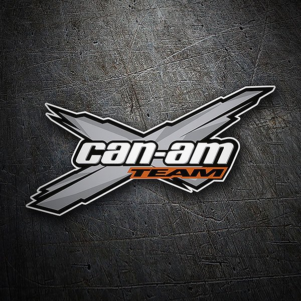 Autocollants: Can-am Team