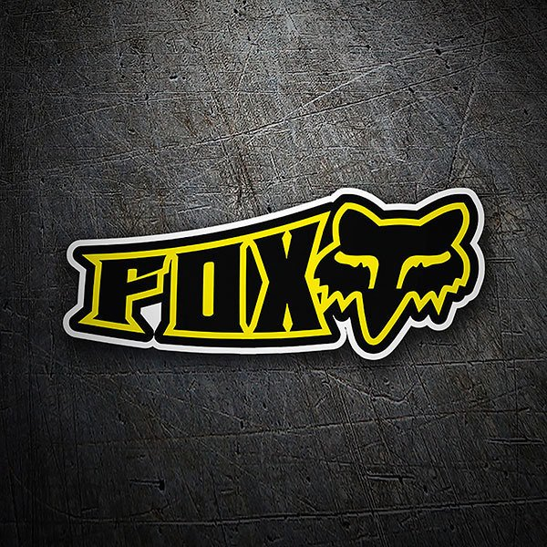 Autocollants: Fox Racing Ciber