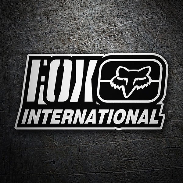 Autocollants: Fox Racing International