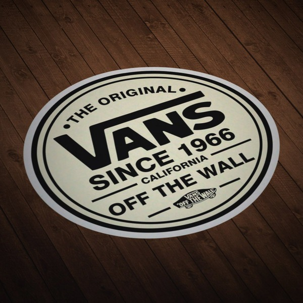 Autocollants: The Original Vans