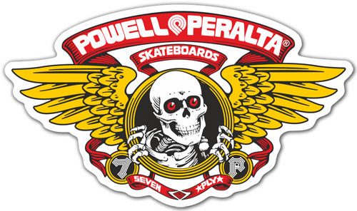 Autocollants: Powell Peralta Skateboards
