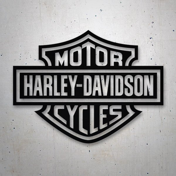 Autocollants: Harley Davidson Cycles