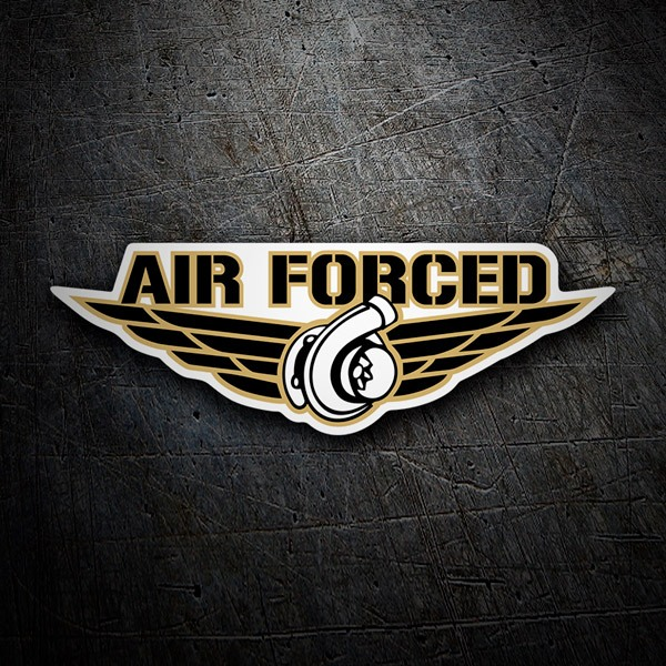 Autocollants: Air Forced