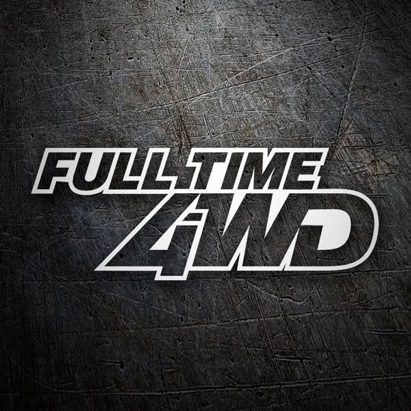 Autocollants: Full Time 4WD
