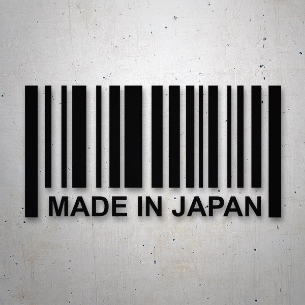 Autocollants: Made in Japan