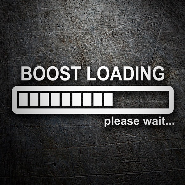 Autocollants: Boost Loading please wait