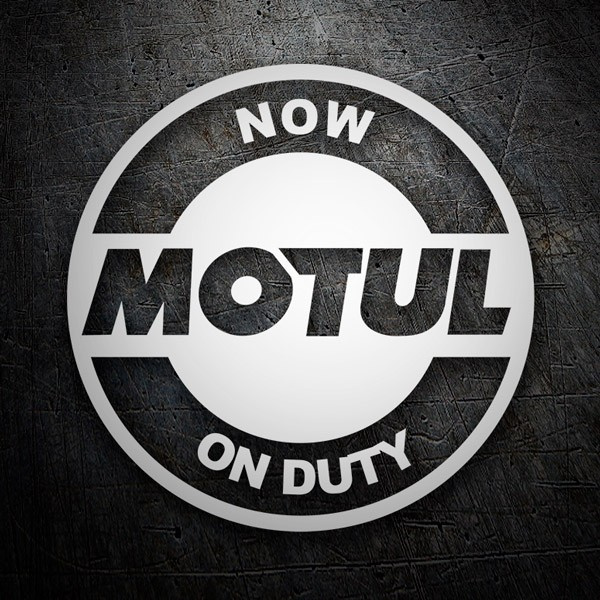 Autocollants: Now Motul on Duty