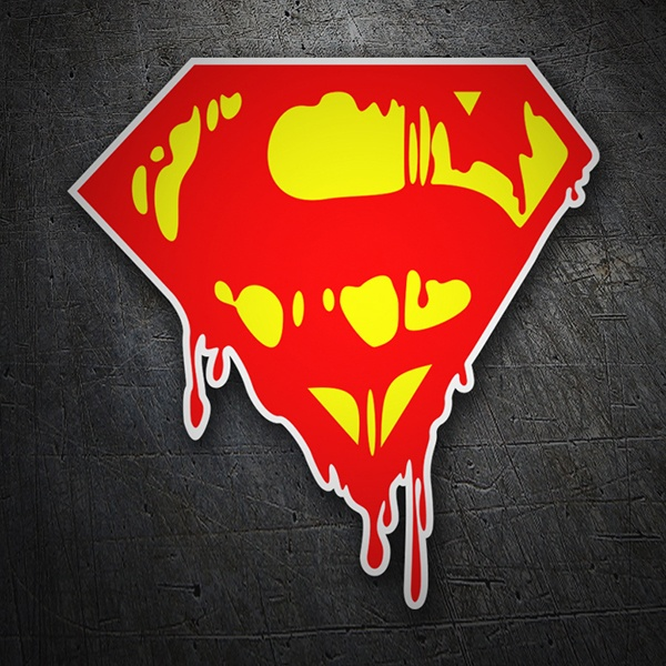 Autocollants: Les graffitis de Superman