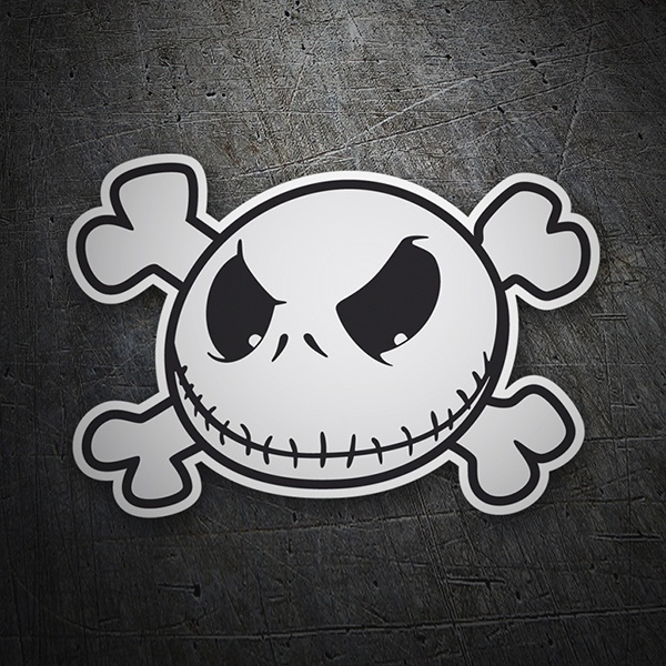Autocollants: Jack Skellington Pirate
