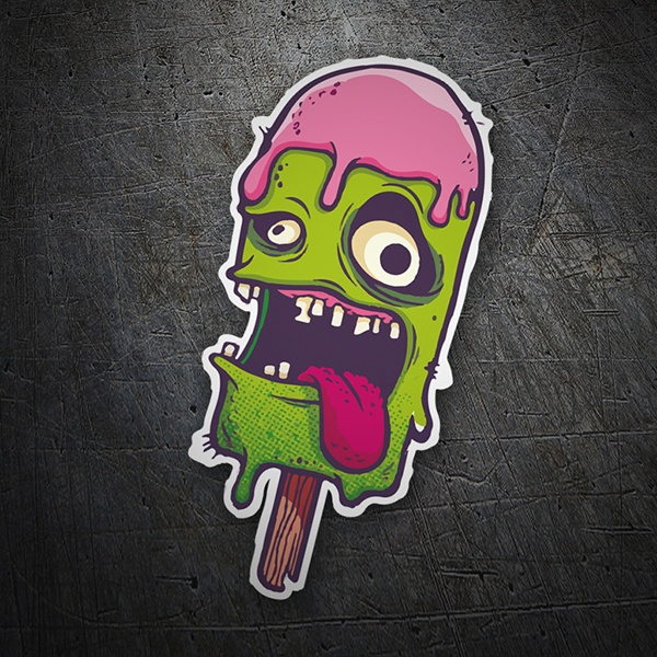 Autocollants: Monster Ice Cream
