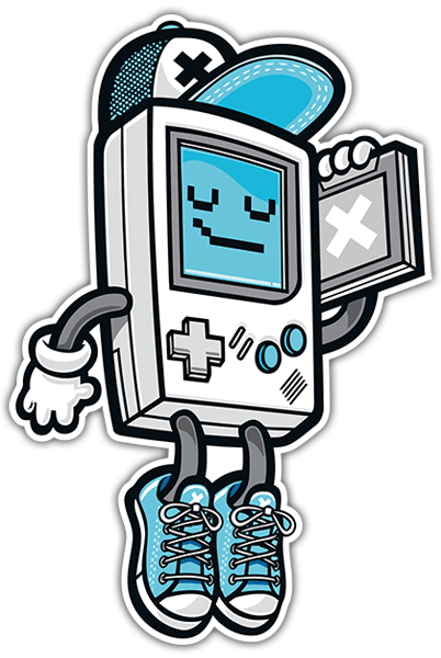 Autocollants: Cool Game Boy 0